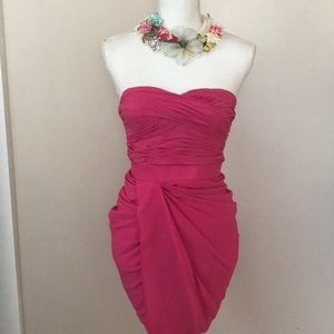Gorgeous Cache ruched dress